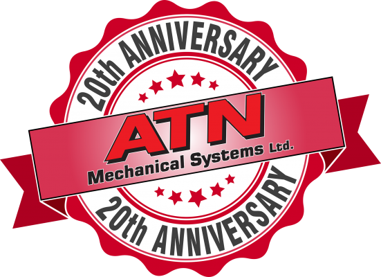 ATN Mechanical Systems 20th Anniversary Logo