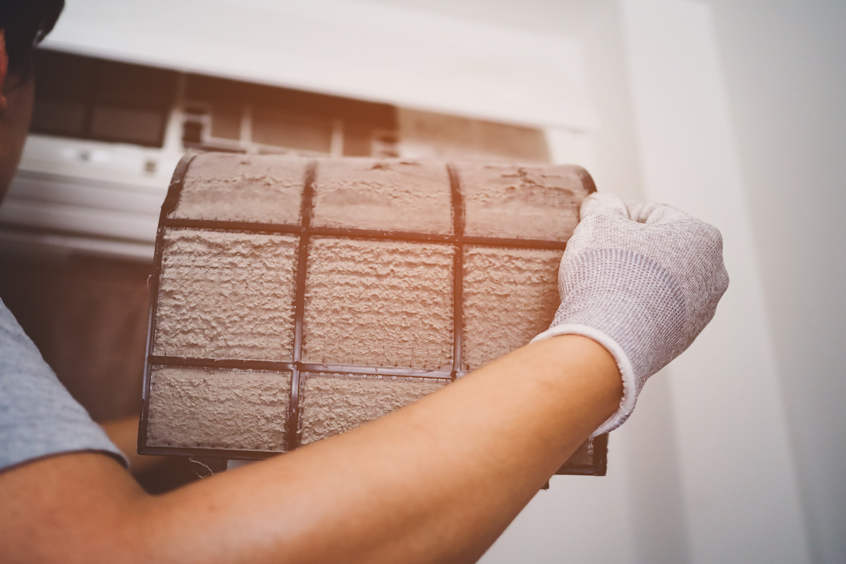 Changing Air Filters by ATN Mechanical